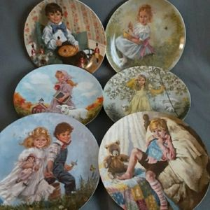 Other - Mother Goose Collectible Plates